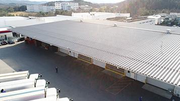 岡山中央陸運の倉庫