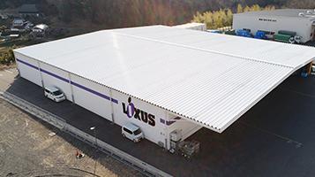 岡山中央陸運の第二倉庫